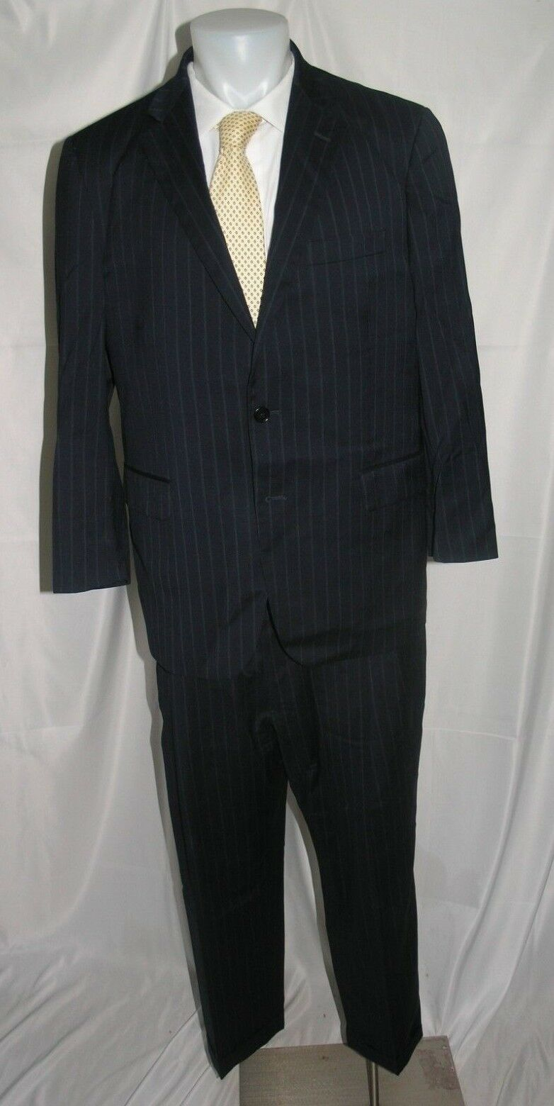Brooks Brothers 1818 Madison Estrato Two Button Lardni Suit 42 S 37 x 26.5