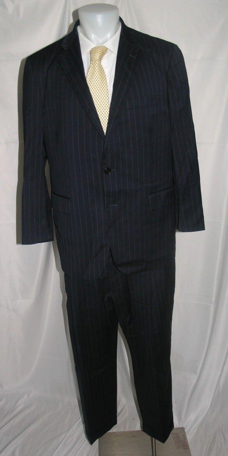 Brooks Bredhers 1818 Madison Estrato Two Button Lardni Suit 42 S 37 x 26.5