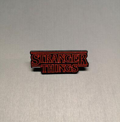 Stranger things Logo Enamel pin Badge