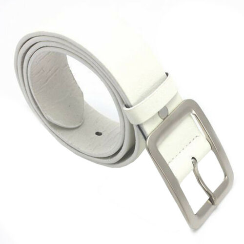 Womens Belt Classic Fashion Genuine Faux Leather Waistband Wide Belt Strap Belts