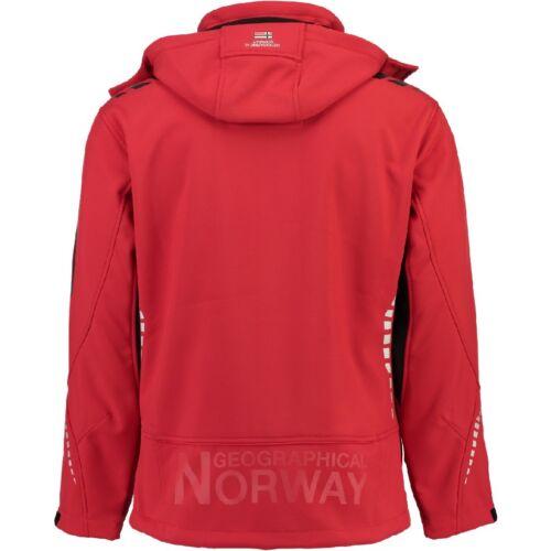 Geographical Norway Rova Giacca Softshell Uomo Invernale Esterno Cappuccio