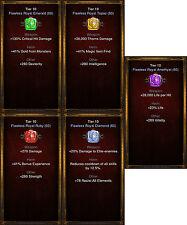 Diablo 3 RoS PS4 [SOFTCORE] - Huge Gem Bundle [Highest Tier] & Gold Package!