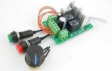 Universal DC 5V-30V Motor Adjustable Speed Controller Regulator Switch 10A 300W