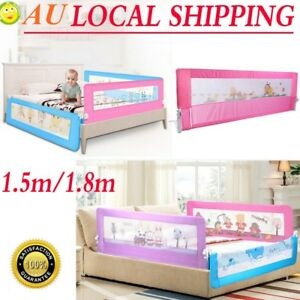 Safety-Bed-rail-BedRail-Cot-Guard-Protection-Child-toddler-Kids-Pink-Blue-AU