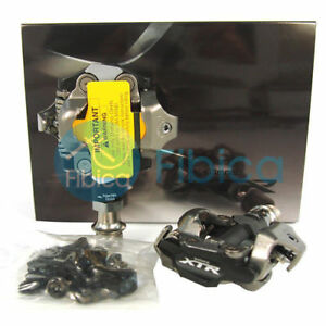 New-2019-Shimano-XTR-Race-PD-M9100-SPD-Mountain-MTB-Clipless-Pedals-with-Cleats
