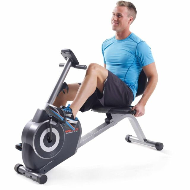 Weslo Pursuit G 3.1 Recumbent Exercise Bike With tablet hold