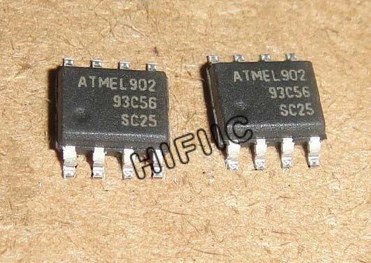1//5//10Pcs AT93C56W 2K Bit 3-Wire Serial EEPROM Atmel IC SMD 2.7-5.5V 93C56