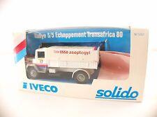 Solido n°3307 • Iveco 190 PAC 26 Esso 4x4 Transafrica   • neuf boite / boxed MIB