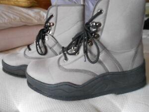 Caddis Wading Pêche Boot Men's Sz 8 Beige Parfait état-afficher Le Titre D'origine
