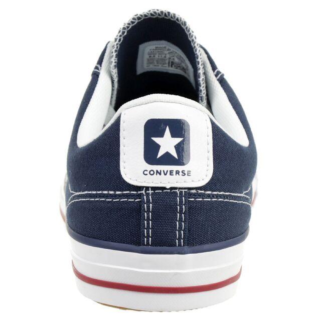 Converse Chucks 144150C blau Star Player Ox Navy White Gr. 36