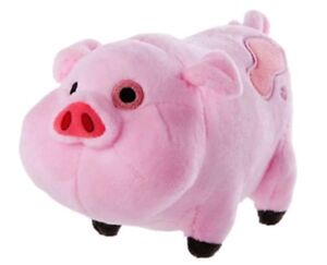 GRAVITY-FALLS-WADDLES-IL-MAIALE-PELUCHE-pupazzo-pig-Mabel-dipper-Soos-plush-doll
