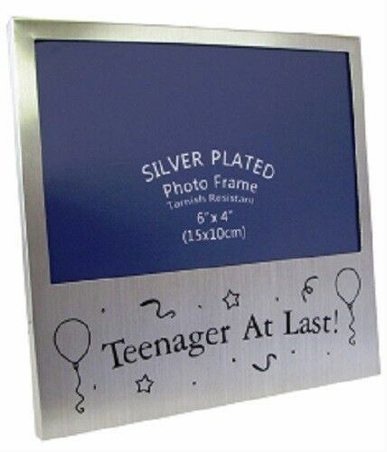 Silver Photo Frame Teenager at Last