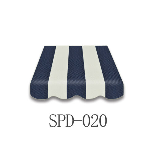 Markisentuch Ersatzstoff mit Volant 4 x 2,5 m  NEU SPD-020
