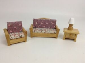 Swell Mini Collectibles Quality Wood Doll House Furniture Set Lamp Dailytribune Chair Design For Home Dailytribuneorg