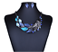 Fashion-Women-Crystal-Chunky-Pendant-Statement-Choker-Bib-Necklace-Jewelry-New miniature 30