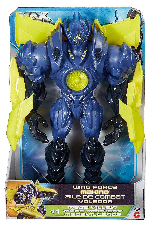 Max Steel Figura de ala Fuerza Makino 12  Genuino Nuevo