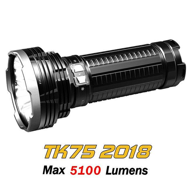 Fenix TK75 2018 cree XHP35 Hi Led Micro Usb Recargable Linterna Antorcha LED