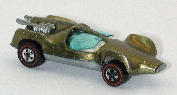 rotline hotwheels olive 1970 mantis weißen innenraum oc11894