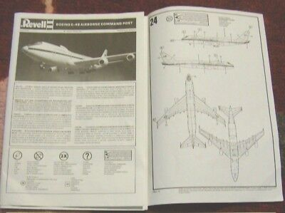 revell e 4b airborne command post 1 144 scale decals and