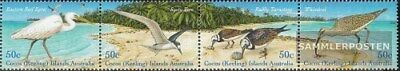 Active Kokos-islas 412-415 Banda De Cuatro completa.edición. Año 2003 Completaett Nue Be Novel In Design