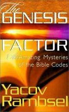 The Genesis Factor : The Amazing Mysteries of the Bible Codes by Yacov Rambsel (2000, Paperback)