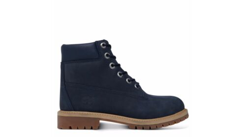 6 Premium 3 Inch 6 Timberland Uk Chaussures Junior Bottes 9497r Navy a1TgOxqP