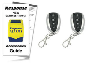 Response-Alarms-SAR-SAURC-Premium-Executive-Remote-Controls-433MHz-TWIN-PACK