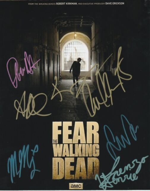 Fear The Walking Dead Curtis Dickens Dillane Autographed Signed 8x10 Photo COA B