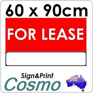 60x90cm-5mm-Corflute-Board-Signs-Foam-Sign-Vinyl-Sign-For-Lease-Real-Estate