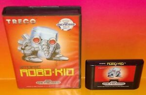 Atomic-Robo-Kid-Sega-Genesis-Rare-Tested-Nice-Condition-Treco