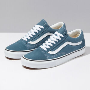 Details zu Vans Blue Mirage Suede Old Skool Skate Shoes Sneakers Blue VN0A4U3BX17 US 4 13