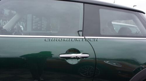 MK3 Mini Cooper//S//One F55 F56 F57 F60 Negro Union Jack Manija De La Puerta Cubierta Para RHD