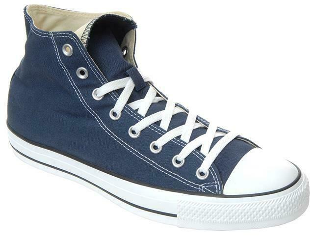 54386307b1b0 Converse Ct All Star Hi Navy Canvas Mens Trainers - M9622 UK 12 for sale  online