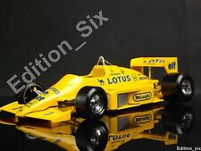 Burago 1:24 1986 Lotus Honda 97T 99T Formula one F1 Race Car yellow