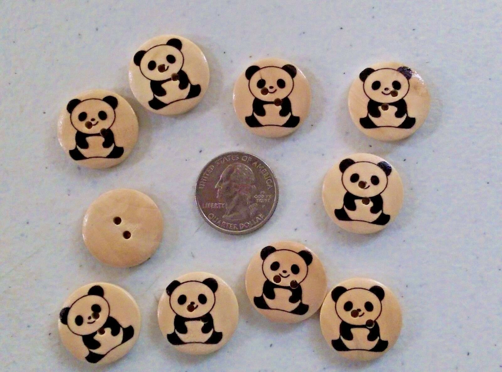 "Scrapbook Doll 4032 15mm 20 SUGAR SKULL 2-hole Wooden Buttons 5//8/"""