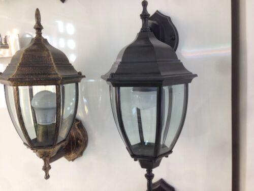 Mezza lanterna da parete applique per esterni decofinder