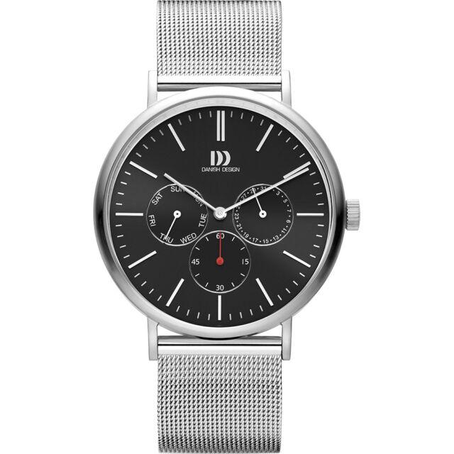 Danish Design Men's Day Date Display Watch IQ63Q1233 NEW