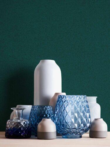 Tapete Vlies Einfarbig dunkelgrün 37555-5375555 New Elegance 3,26€//1qm