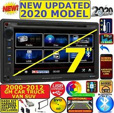Fits 00 12 Chevy Gmc Truck Van Suv Cddvd Bluetooth Usb Aux Car Radio Stereo Pkg