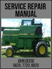 John Deere 6620 Sidehill 6620 7720 Amp 8820 Combine Technical Manual Tm1202 Usb