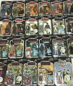 Star Wars THE VINTAGE COLLECTION, Revenge of the Jedi, Sith, AOTC, & More-CHOICE