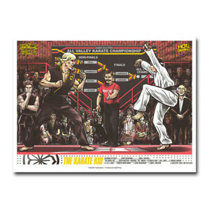The Karate Kid Movie Canvas Poster 12x18 32x48 inch
