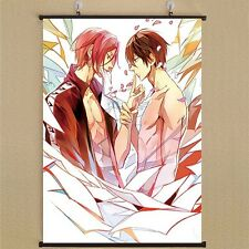"Iwatobi Swim Club Wall Poster Scroll FR5 8/""*12/"" Home Decor Japanese Anime Free"