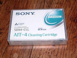 Sony-AIT4-AIT-4-Nettoyage-Cassette-Cartouche-SDX4-CLL-Remote-64k-Mic-nouveau