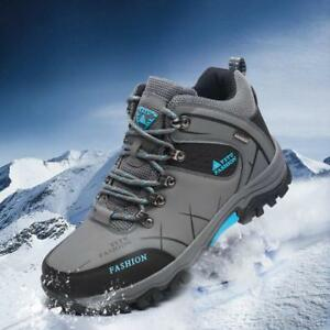 Mens-Winter-Big-Size-Trail-Hiking-Boots-Waterproof-Antiskid-Climb-Outdoors-Shoes