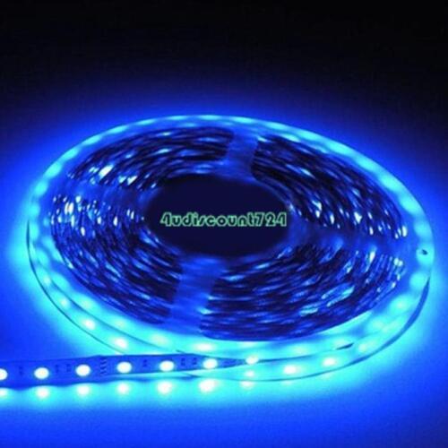 5m LED Stripe 5050 SMD RGB Leiste Streifen Band Lichtband IR Netzteil 12V 1m