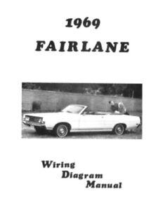 FORD 1969 Fairlane Wiring Diagram Manual 69 | eBay | Ford Fairlane Wiring Diagram |  | eBay