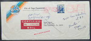 Cape-Canaveral-5c-on-America-USA-Letter-Lot-9885