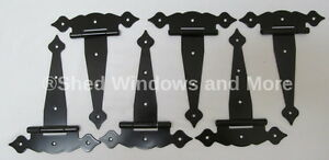 "6/"" Heavy Duty Shed Hinges Colonial Style Storage shed Coops Playhouse set of 24"