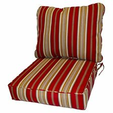 Greendale Home Fashions Deep Seat Cushion Set OC7820 Roma Stripe